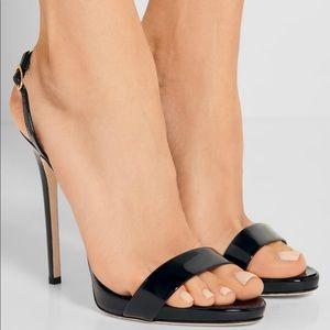 "Giuseppe Zanotti Patent Leather ""Sophie"" Sandals"